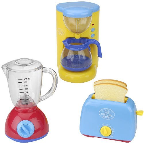 Just Like Home Appliance Set - Coffee Maker, Blender, and Toaster