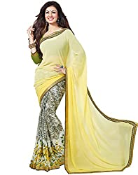 Vastram Online Shop Women's Georgette Saree (11_Multicolor)