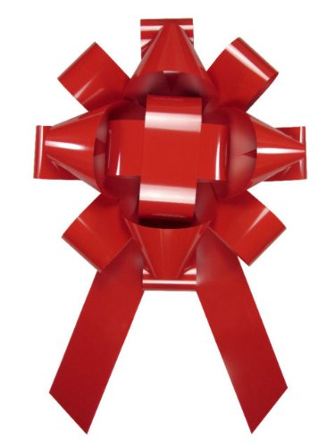 Giant Magnetic Car Bow, Red