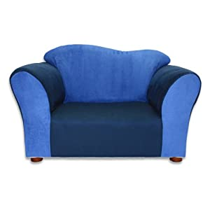 Fantasy Furniture Wave Chair, Navy/Blue by Fantasy Furniture