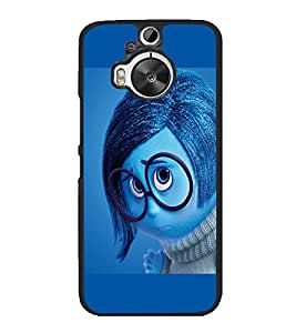 printtech Sad Disney Inside Out Back Case Cover for HTC One M9 Plus