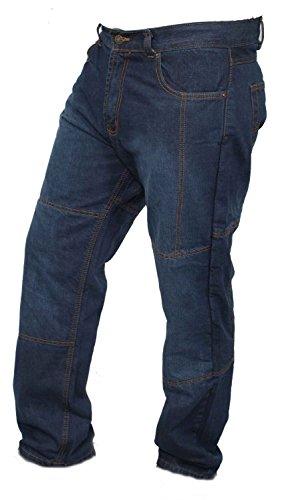 Newfacelook Men's Motorcycle Jeans Comes