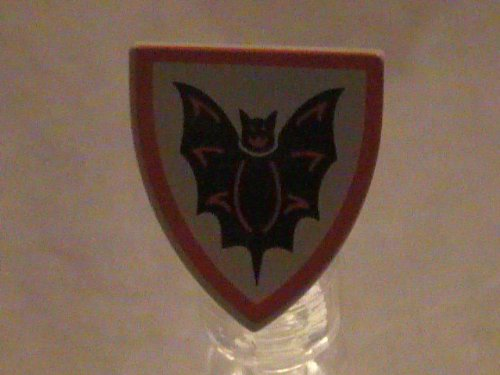 Lego Fantasy Era Castle Bat Lord Knight Shield Minifigure Accessory