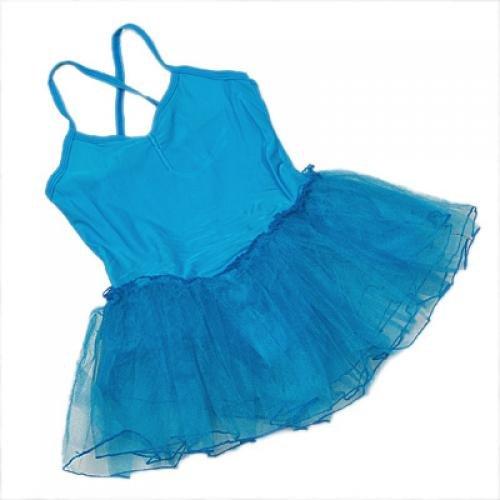 Kinder Blau Kleid Ballett Ballet Tutu Tütü Balletkleid