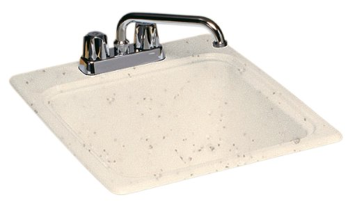 Swanstone DIT-S-050 17-1/4-Inch by 20-Inch Commercial Laundry Sink, Tahiti Desert Finish