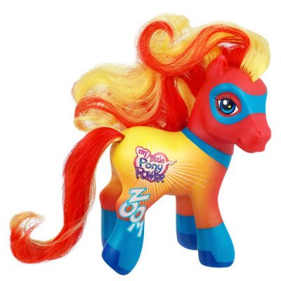 Buy Low Price Hasbro My Little Pony 2007 Comic Con Collectors Exclusive Super Hero Pony Power Figure (B000USUP84)