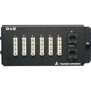 On-Q/Legrand 1267058-01 6-Port Telecom Expansion Module