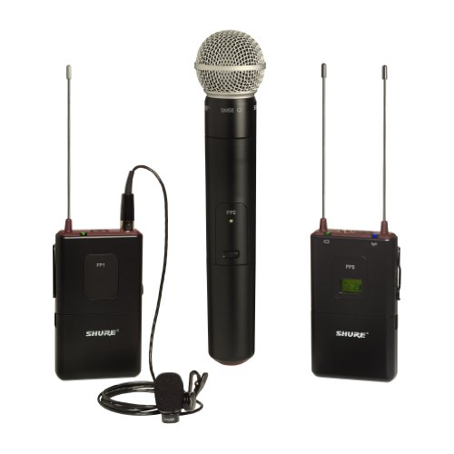 Shure Fp125/83Sm58 Combo Wireless System, L4