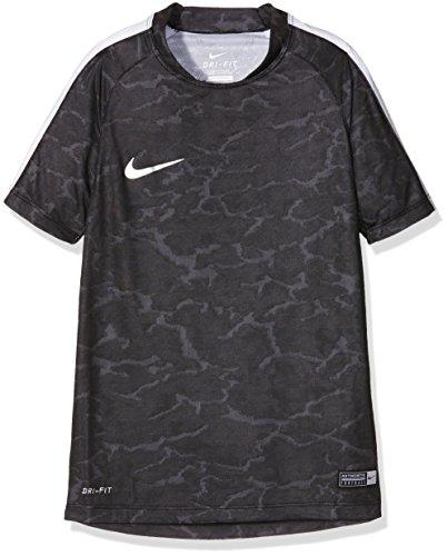 NIKE ragazzi camicia Flash CR7, nero/bianco/argento, XL, 777541-011