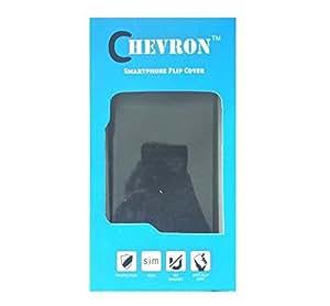 Chevron Flip Cover Case with Chevron HD Screen Guard & Micro OTG Cable for Asus Zenfone 2 ZE550ML