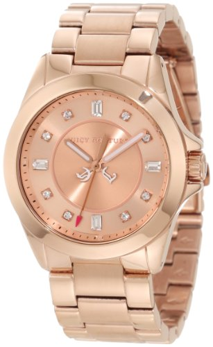 Juicy Couture Women's 1901036 Stella Mini Rose Gold Plated Bracelet Watch