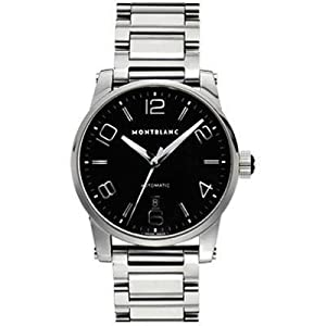 Montblanc Timewalker Large Automatic Black Mens Watch 9672 by Montblanc