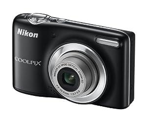 Nikon Coolpix L25 Digitalkamera (10 Megapixel, 5-fach opt. Zoom, 7,5 cm (3 Zoll) Display, bildstabilisiert) schwarz
