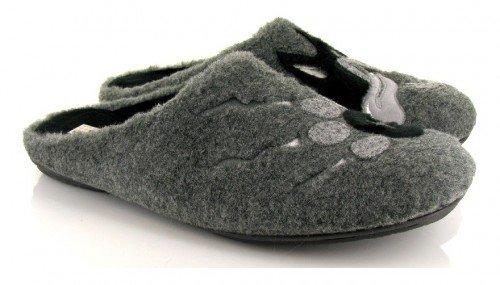 VUL-LADI, Pantofole uomo grigio grigio grigio Size: 41