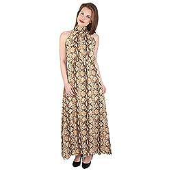 Tenn Women's Maxi Dress (BRPP11NSXS_XX-Large_Multi)