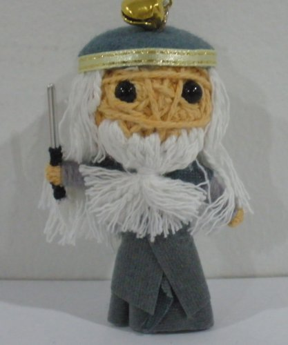 Dumbledore from Harry Potter Voodoo String Doll Keychain - 1