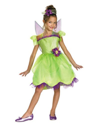 Baby-toddler-costume Tinker Bell Rainbow Deluxe Toddler Costume 3t-4t