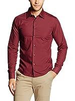 Philip Loren Camisa Hombre (Granate)