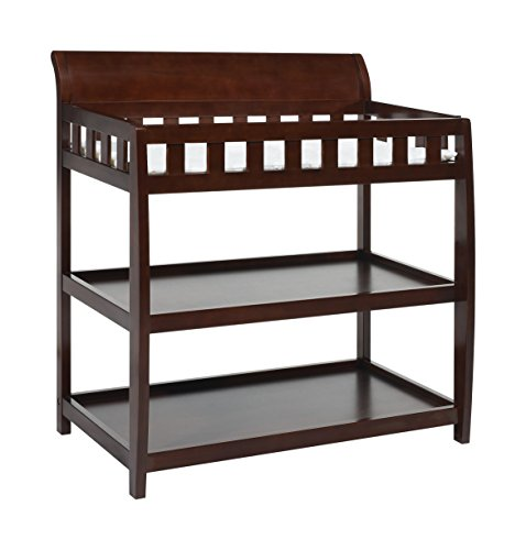 Delta Children Bentley Changing Table, Black Cherry Espresso