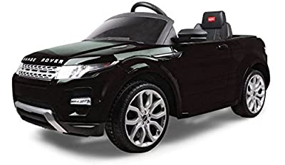 Licensed Range Rover Evoque Kids Electric Ride On Car - Black