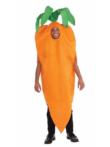 Adult Unisex Carrot with Leaves Costume