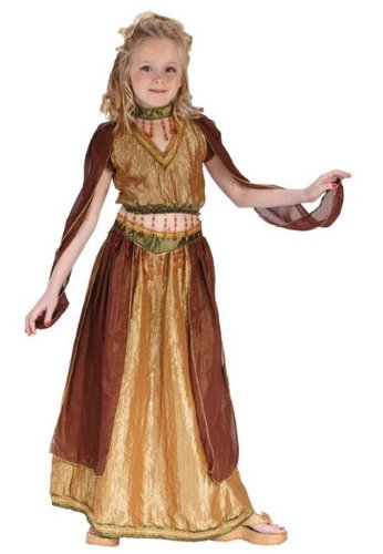 Exotic Belly Dancer Costume - Child Costume - Large