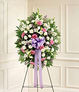 Flowers - Lavender & White Standing Spray
