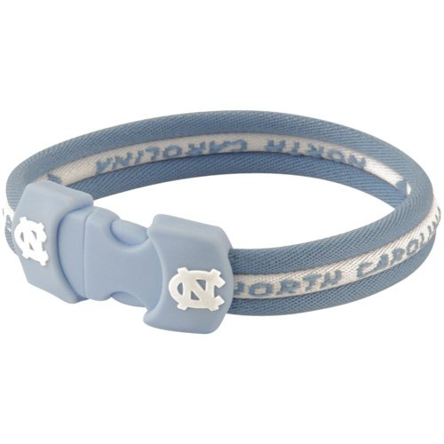 NCAA North Carolina Tar Heels (UNC) Titanium Sport Bracelet (8.5) at Amazon.com