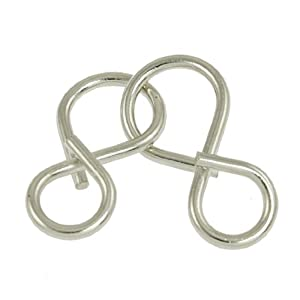 Como 8 Shaped Twisty Wire Metal Brain Teaser Disentanglement Puzzle