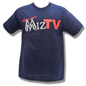 Wwe the miz miz tv adult size medium t shirt for Adult medium t shirt
