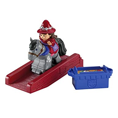 Fisher-Price Little People Mike The Knight Klip Klop Evie Figure Pack