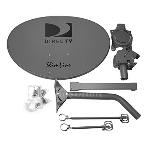 DIRECTV SLSPF SlimLine SLSPF / SL5S 5 Satellite Dish Antenna (Discontinued by Manufacturer) (Directv Slimline Dish And Lnb compare prices)