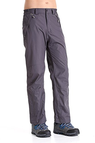 Clothin Mens Snow Pants / Fleece Lined Ski Pants / Waterproof