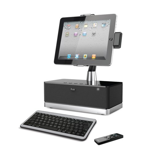 iLuv iMM517BLK WorkStation Pro Mobile SuperStation