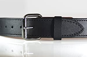 shepherd leather concealed carry belt black