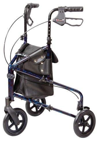 Walker 3 Wheel Trio Roller Walker - Carex Health Brands A33300 (3 Wheeled Rollator compare prices)