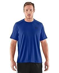 Under Armour Men\'s UA Tech Short Sleeve T-Shirt Large Royal