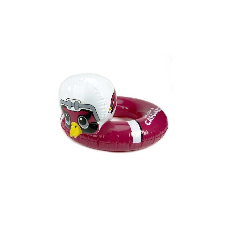 Pack of 5 NFL Arizona Cardinals Mascot Swimming Pool Inner Tubes