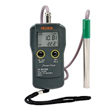 Hanna Instruments HI 991003N pH/pH-mV/ORP/Temperature meter, with Extended Range