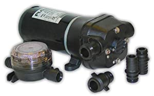 Buy FloJet 04125114A Marine Freshwater Bilge Pump (5-GPM, 12-Volt, 11-Amp) by Flojet
