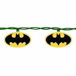 Kurt Adler 10-Light Batman Light Set at Gotham City Store