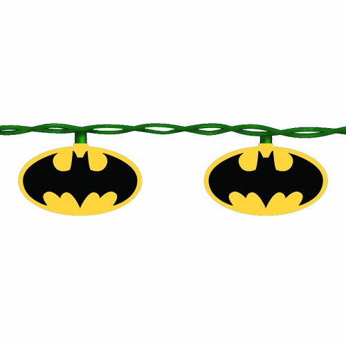 Kurt Adler 10-Light Batman Light Set at Gotham City Store