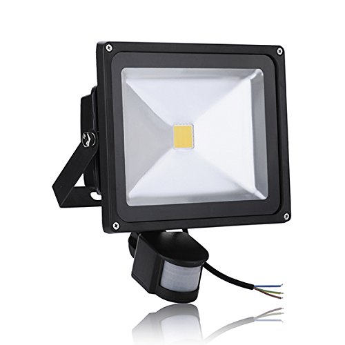 7-Pack Popular 30W Warm White Floodlight Ac 85-265V Waterproof Led Flood Light Induction Sense Lamp