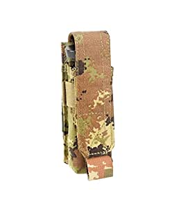 Amazon.com : DEFCON 5 PORTA CARICATORE MOLLE SINGOLO 9 mm VEGETATO