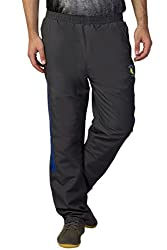 Greenwich United Polo Club Men's Polyester Track Pant (GUPC36_Grey_XX-Large)