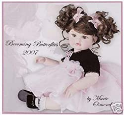 Marie Osmond 2007 Becoming Butterflies Doll Calendar
