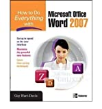 How to Do Everything with Microsoft Office Word 2007 (0071490698) by Guy Hart-Davis