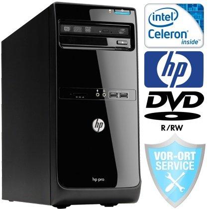 #4104 HP Pro 3400 Desktop-PC (Intel Dual Core Sandy Bridge G530 2x2.4 GHz, 8GB DDR3 RAM, 640GB S-ATA2 HDD, DVD-Brenner, Windows7 Home Premium 64, 1 Jahr HP vor Ort Service)