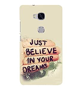 Life Quote 3D Hard Polycarbonate Designer Back Case Cover for Huawei Honor 5X :: Huawei Honor X5 :: Huawei Honor GR5
