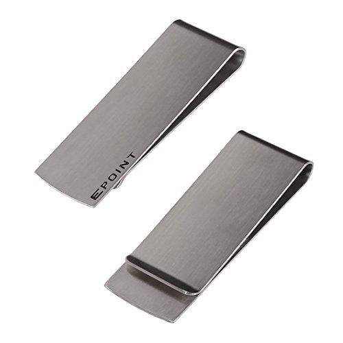 EQA02 varie da uomo Smart fermasoldi porta carte di in acciaio inox di Epoint